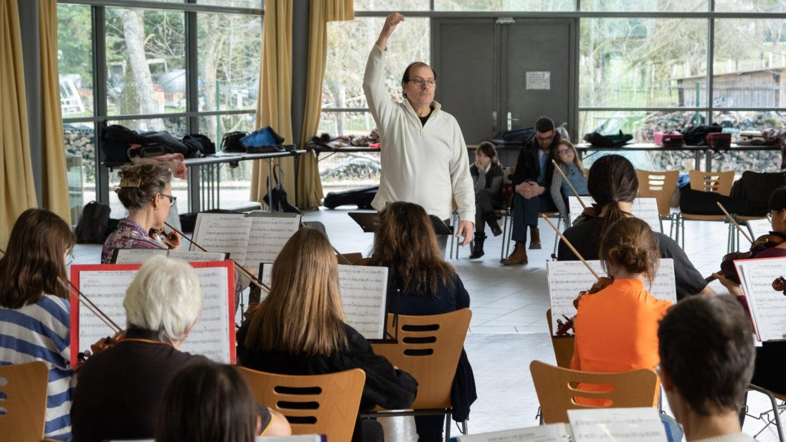 Concerts inter-écoles: répétitions